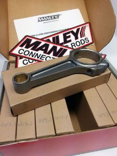 """Buy New set 8 Manley 14354-8 S/B Chevy Pro Series I-Beam 6"""" large journal steel rods motorcycle in Kansas City, Missouri, United States"""