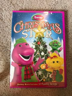 Christmas star Barney movie