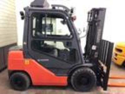 2011 Diesel Toyota 8FDU25 Pneumatic Tire 4 Wheel Sit Down