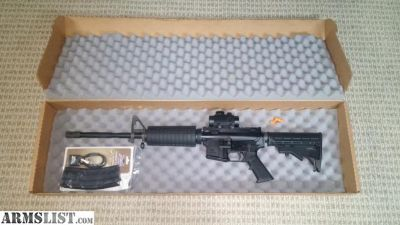 """For Sale: PSA 16"""" M4 style rifle"""