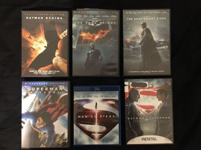 DC Comics Movies DVD Superman Batman