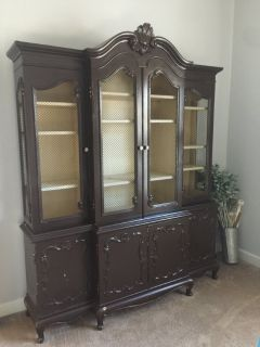 French Style Dining Room Hutch