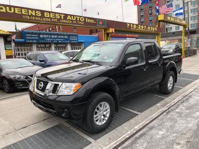 2019 Nissan Frontier Crew Cab 4x4 SV Auto (Magnetic Black Pearl)