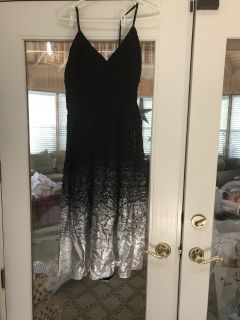 New Black and Silver dress
