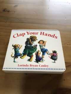 Clap Your Hands Board Book