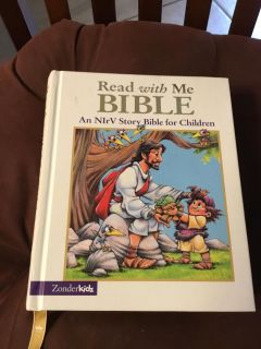 NEW! READ WITH ME BIBLE (ages 4-