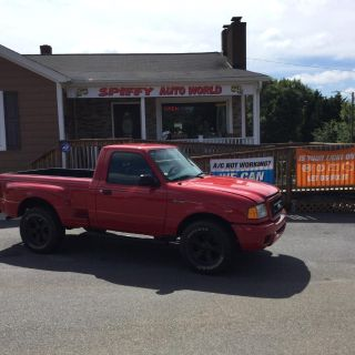 2004 Ford Ranger Edge (Red)