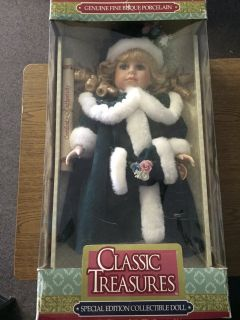 Classic Treasures Collectible Doll