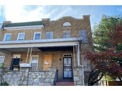 3 Bed 1 Bath Foreclosure Property in Baltimore, MD 21206 - Nicholas Ave
