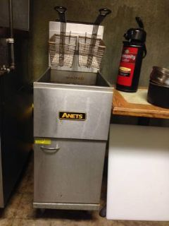 Anets 40-45 commercial fryer