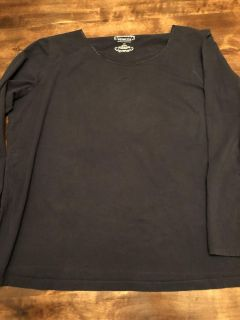 Navy Top - size 22/24