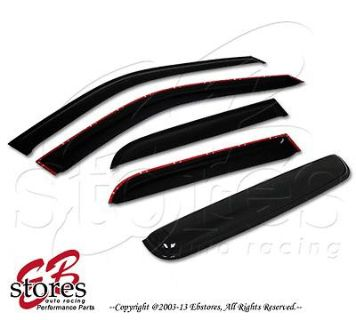 Sell Vent Shade Outside Mount Window Visor Sunroof 5pc Combo Toyota Corolla 98-02 4DR motorcycle in La Puente, California, US, for US $49.95