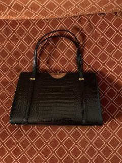 patent leather evening purse