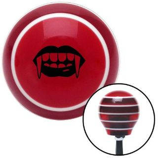 Find Black Mouth with Fangs Red Stripe Shift Knob with M16 x 1.5 Insert big block 427 motorcycle in Portland, Oregon, United States, for US $54.95