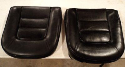 Buy CORVETTE ORIGINAL SEAT CUSHIONS BLACK 1965 SEAT BACK FOAM PAIR VINYL SURVIVOR motorcycle in Sioux Center, Iowa, US, for US $99.99