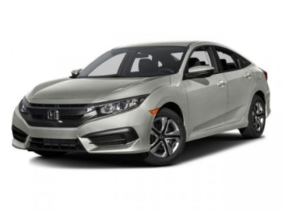 2016 Honda CIVIC SEDAN LX (White)