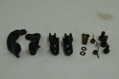 Buy Suzuki DR250 Foot Pegs and Mounts 1985 motorcycle in Fort Worth, Texas, United States, for US $21.95