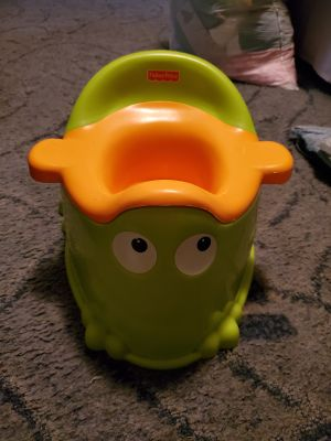 Frog potty seat.