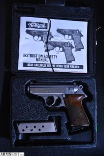 For Sale: Interarms Walther PPK/S .380 Original Box