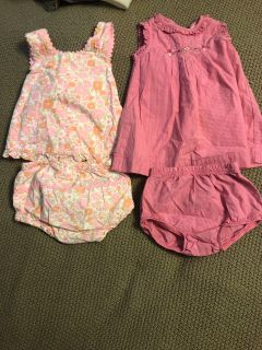 9 month dresses with diaper covers