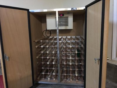 PRICE CUT! Custom wine refrigerator for the true collector