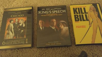NEW Chicago, NEW The King's Speech, and Used Kill Bill