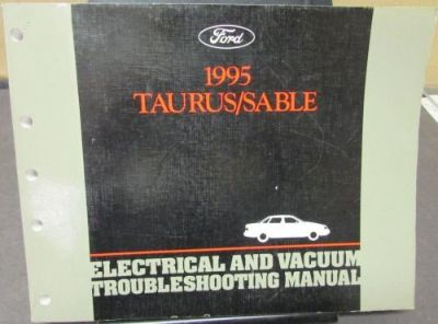 Find 1995 Ford Taurus Mercury Sable Electrical & Vacuum Troubleshooting Shop Manual motorcycle in Holts Summit, Missouri, United States, for US $19.00