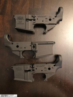 For Sale: AR-15 Lower Receivers, Palmetto