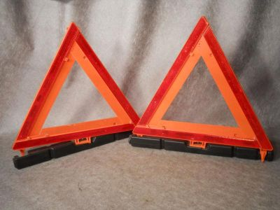 Sell Grote 71422 Orange Safety Reflector Triangles set of 2 motorcycle in Jamestown, Kentucky, US, for US $20.00