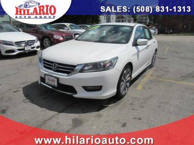 2015 Honda Accord Sdn 4dr I4 CVT Sport (White Orchid Pearl)