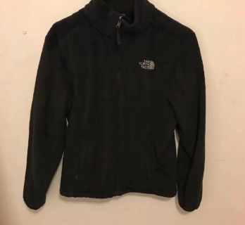 Brand New Black Fluffy North Face Jacket