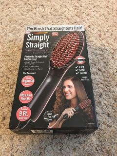 New in Box Simply Straight