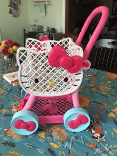 Hello Kitty Grocery Cart
