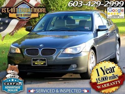 2008 BMW 5-Series 528xi (Gray)