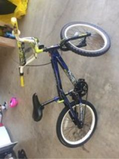 boys bike only used for a week