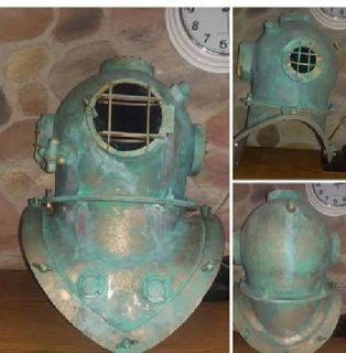 Costume Custom Made Deep Sea Diver Helmet (Faux)