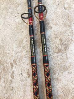 FS: pair of 20-50 lb spinning rods