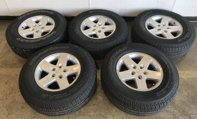 Jeep Wrangler tires (set of 5)