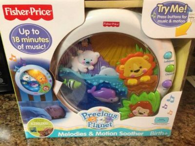 Fisher Price Precious Planet Baby Meolodies & Motion Soother for Crib