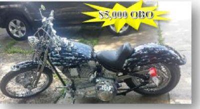 Custom Built Motorcycle-1998 Paughco Hardtail