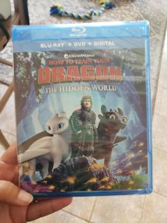 How to train your dragon 3, DVD disc only