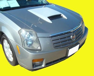 Buy 03-07 Cadillac CTS Hood Scoop w/ ABS Plastic Grill NEW motorcycle in Grand Prairie, Texas, US, for US $142.99