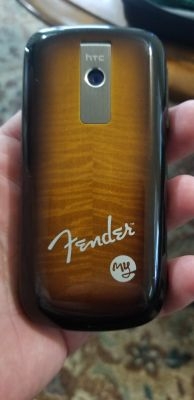 Fender limited edition phone