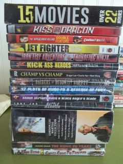 Martial Arts Dvd Lot New/ Used