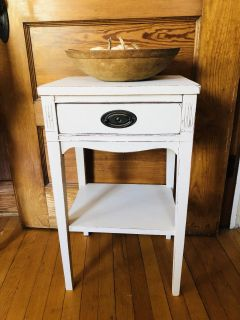 Restyled Duncan Phyfe Accent Table