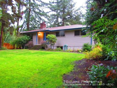 Available Soon!  Spacious Woodinville Home in Wellington Area!