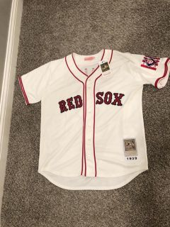 Ted Williams Jersey Red Sox #9