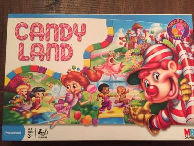 Candy Land game, like new condition, $5