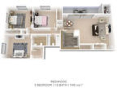 Briarwood Place Apartment Homes - 3 BR
