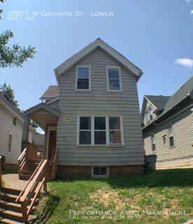 Apartment Rental - 2607 W Orchard St